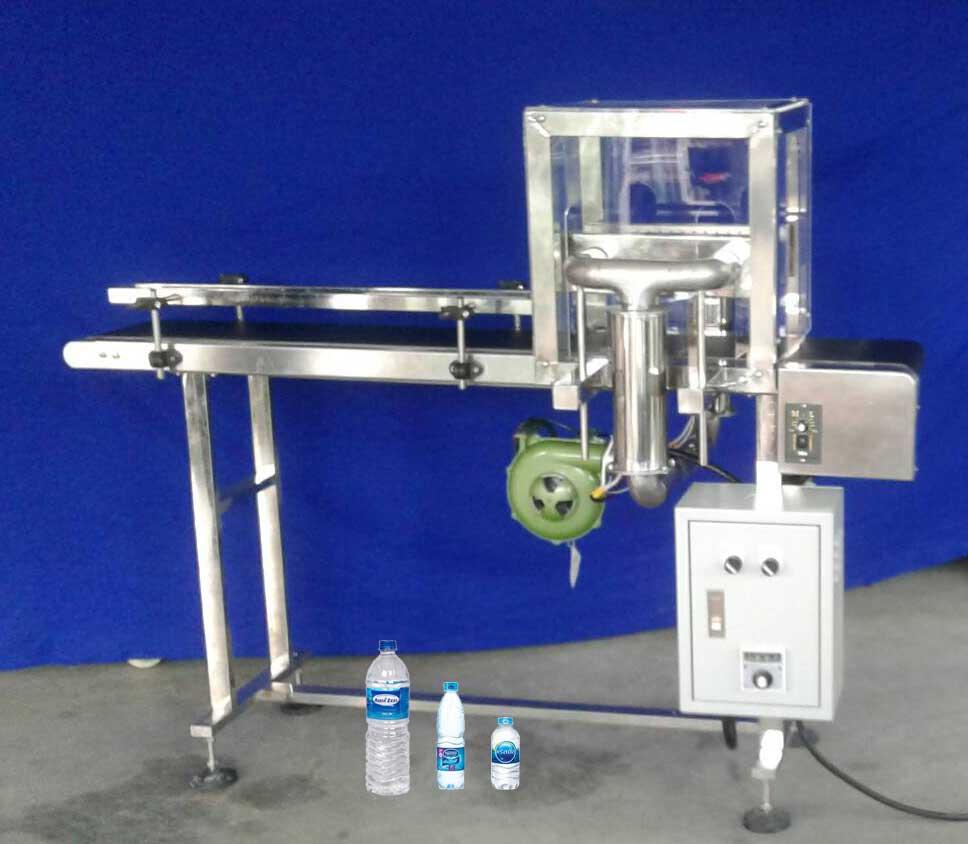 รูปเครื่องอบฉลากน้ำดื่ม PET