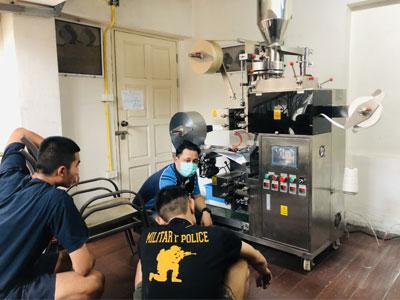 ส่งเครื่องแพ็คซองชา รุ่น T2C ที่กรุงเทพมหานคร