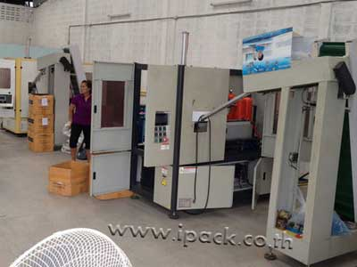 รูปผลงานการขายเครื่องเป่าขวด PET แบบอัตโนมัติ ที่จังหวัดสมุทรปราการ